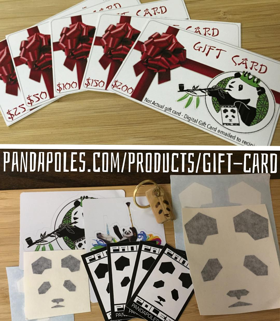 Not sure what to get somebody for Xmas? How about a Panda Poles Gift Card?! Starting at $25, all gift cards over $50 come with a courtesy Panda Promo Pack ($12 value)! Otherwise, make sure to get your pole orders in before Dec. 15th at midnight to...