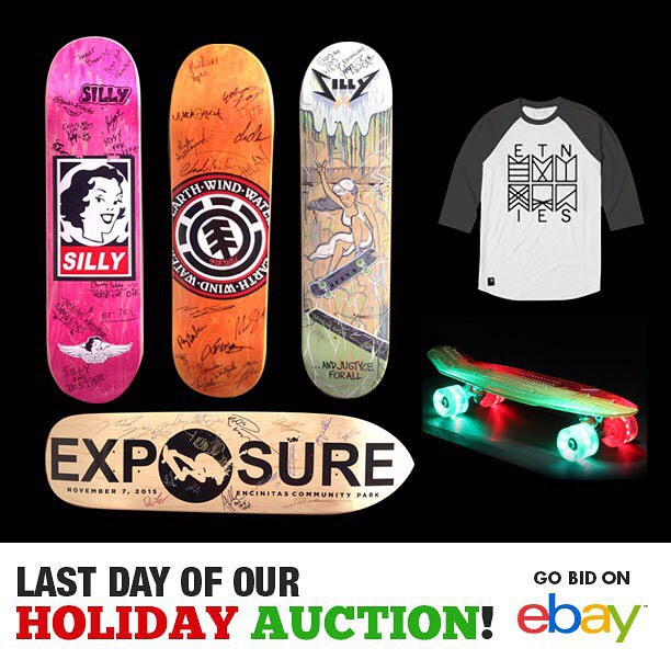 It's the LAST day of our holiday auction! There are so many exclusive items up for bid! Link in bio!