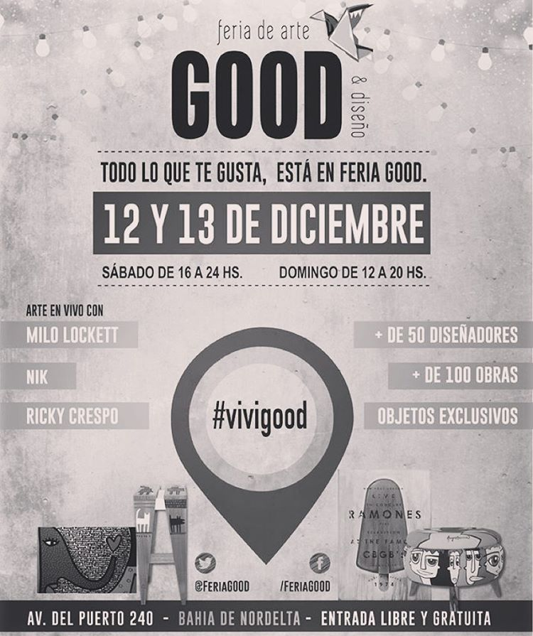 ⚡️Katwai in GOOD⚡️ Encontranos este finde en Good: Feria de Arte & Diseño / Nordelta