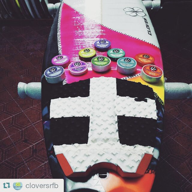 #Repost @cloversrfb with @repostapp ・・・ @keepsurfingwax con todos sus productos en el surfshop tecnico! #tecnico #grips test!  #wax #surfwax #surf #colour