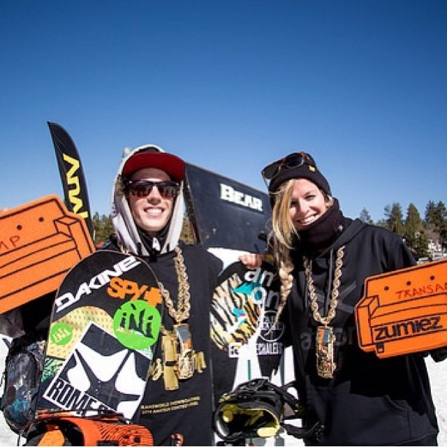 So stoked for our boy Jeff Hopkins @lilhefe for winning the @twsnow #TransAm yesterday @bearmountain_ . @romesnowboards @dakinenews @spyoptic