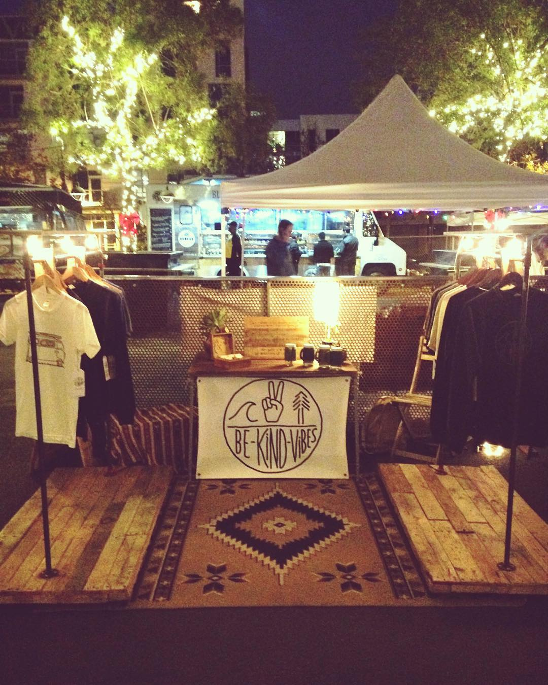 ~ Tribe Gathering ~  Night 2 @quartyardsd! We'll be here until 10pm. Swing by and have a pint with us while you're shopping green and local for the holidays. -------------------------------------------- #bekindvibes #bekindtribe #consciousadventurer