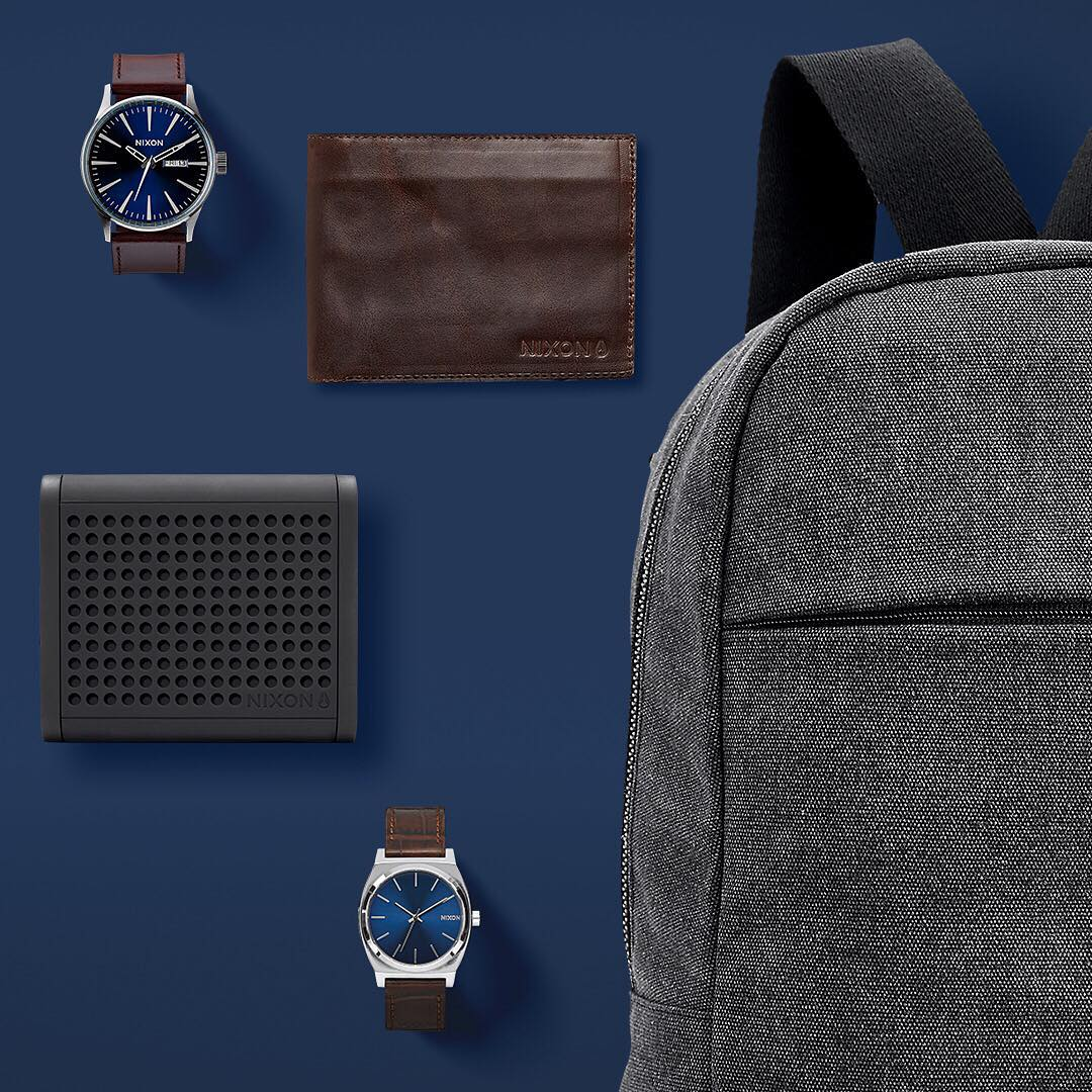 Premium leather, smartly designed bags, and classic good looks will never go out of style. #GetGifting today with #Nixon's curated assortment of must-have holiday gifts for him on Nixon.com.