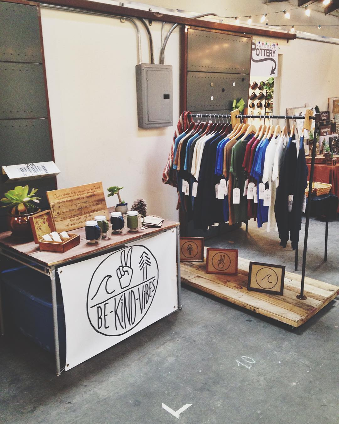 ~ Tribe Gathering ~  We're hanging out at @sandiegomadeinsta all day today and tomorrow! Swing by and shop local this holiday season.  Also check out our good friends @braidedbliss @socalcandleco while you're here!...