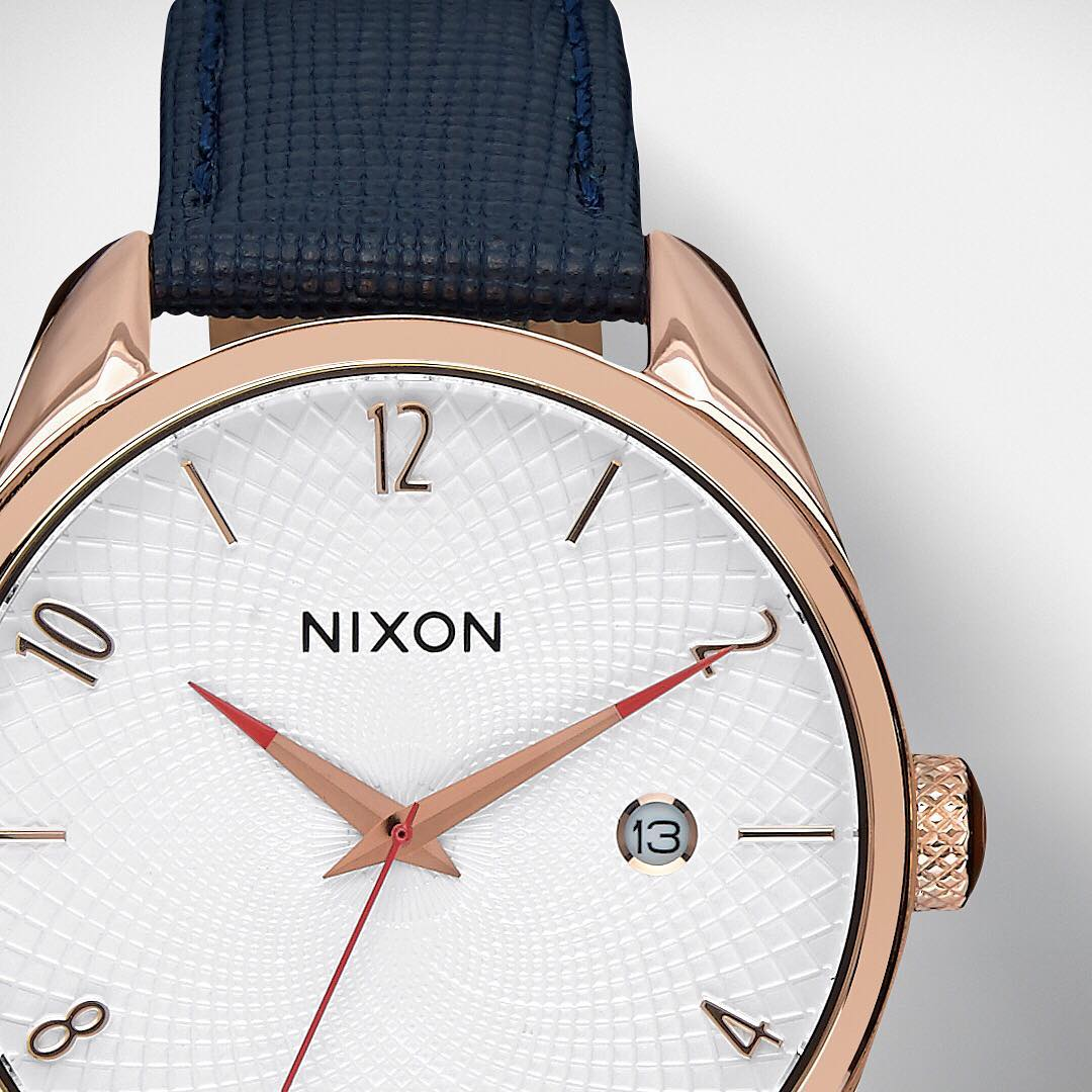 Created for staying true to what she'll love, it's time to #GetGifting with  #Nixon's classic women's styles including the #BulletLeather.  See Nixon's curated holiday gift guide now on Nixon.com.