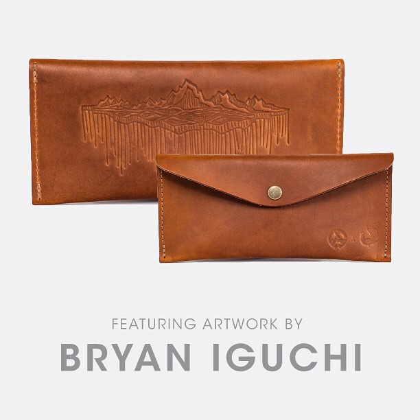 "So perfectly crafted, so beautiful designed...Say ""hello"" to the @bryaniguchi field case.  Link to our complete @redcloudscollective collection in profile. #bryaniguchi #asymbolessentials #asymbol #redcloudscollective #leathergoods"