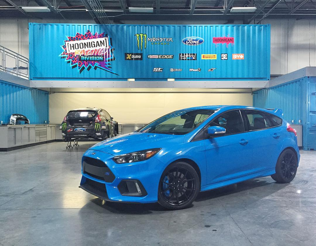 Yes! Another Ford Focus RS pre-production car is posted up here in the #HRD_HQ today. This one is here for an RS heritage video that Ford is filming. No driving for me this afternoon - but I will get to throw this thing around tomorrow. Hopefully...