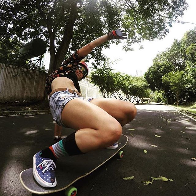 @longboardgirlscrewpma Ambassador @ginamendez88 ⚡️ Where are you skating today?  #longboardgirlscrew #womensupportingwomen #skatelikeagirl #lgcpanama #ginamendez #LGC