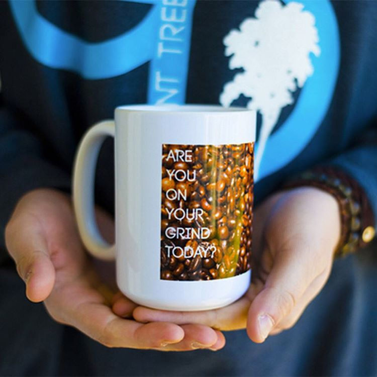 are you on your grind today?  microwaveable + dishwasher save mugs are now on sale. message for info