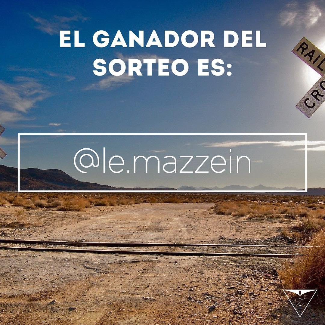 El ganador del sorteo es @le.mazzein ! Felicitaciones Franco, que disfrutes tu nueva Ziggurat.