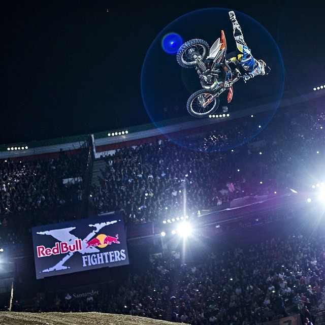 Off to a flying start in Mexico. #xfighters #levisherwood