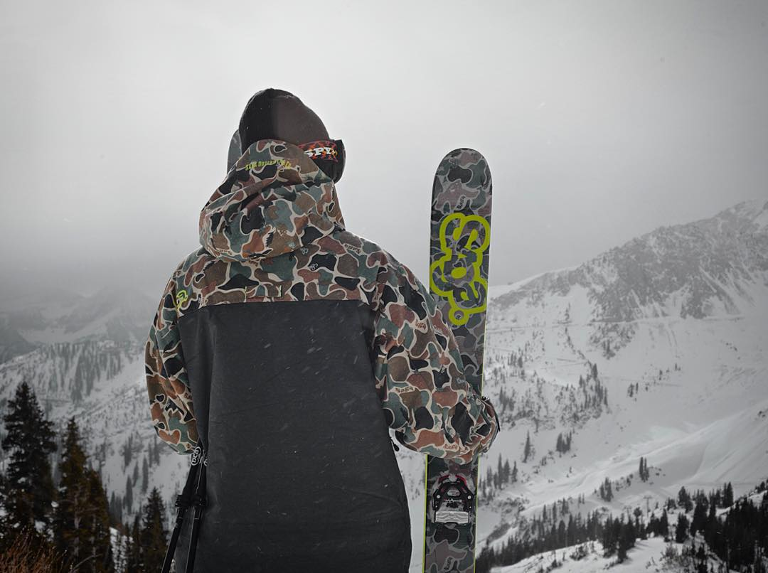 @sagaouterwear Monarch 3L camo jacket on sale today 30% off - One Day Only! $223.99  Link in profile. PC | @angryjordan