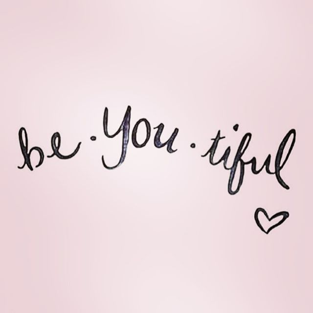 You're beautiful! #mondaymantra #beyou