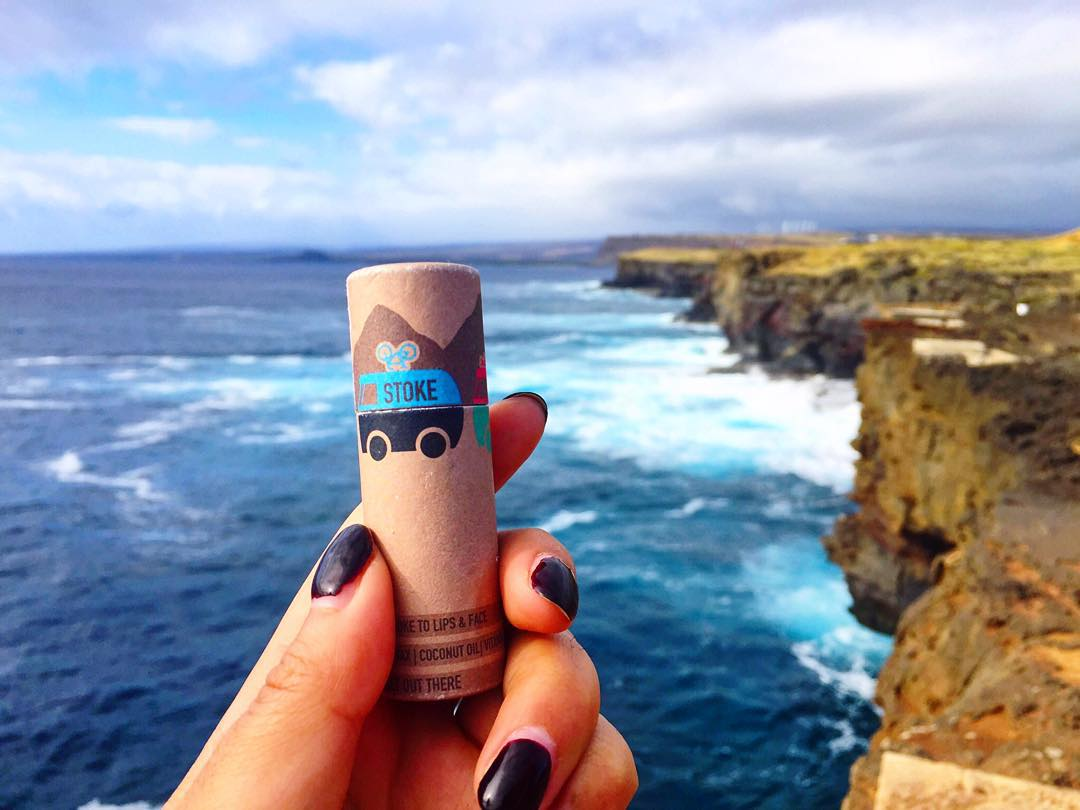 Ready for holiday travel? Our friend Stokie is visiting the most southern most point in the continental US. Go get some for your trip too on www.stokedgoods.com.