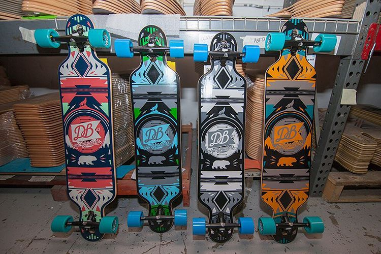 People are loving the four colorway options of the Urban Native this holiday season! Push to school, skate to work or go for a beer run on this drop-through cruiser. #dblongboards #dburbannative #longboard #longboarding