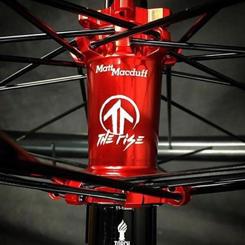 How sick are these new wheels that @industry_nine whipped up for @matt_macduff?!