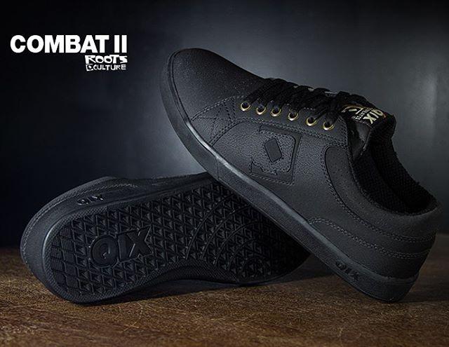 Combat II Roots Black... Desenvolvido para combinar com todas as ocasiões!#qixcombat