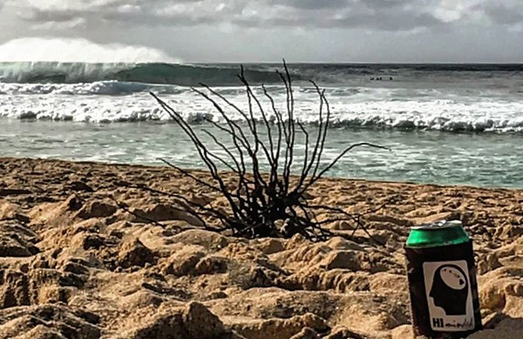 Post-sesh cold one... #himinded #surf #surfcompany #surfing #maui #northshore #hawaii #oahu # bigisland #kauai #koozie #808 #surfapparel