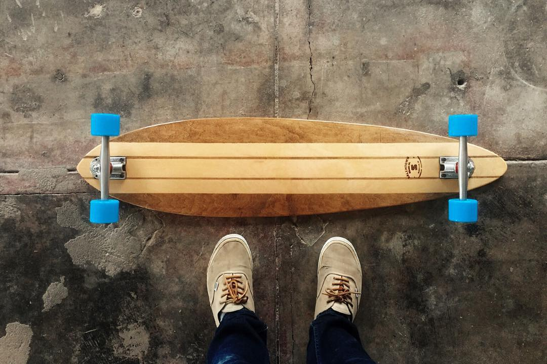 This classic Pintail is on sale for $198. Super pretty board ready to cruise.