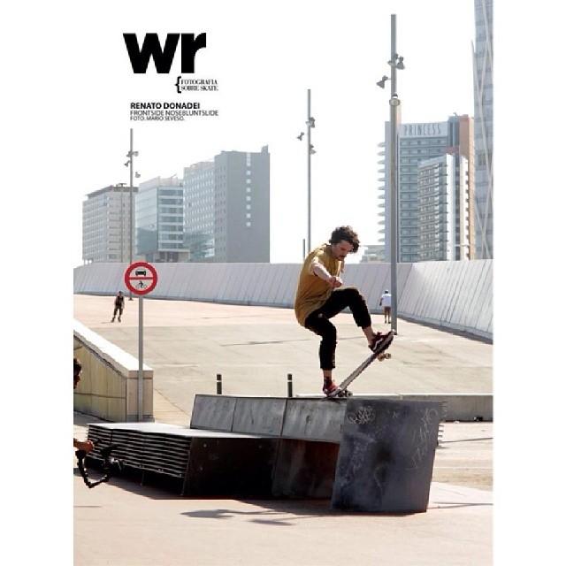 @renatodonadei en Wallride Mag.  Frontside Noseblunt Foto: @marioseveso Forum | Barcelona