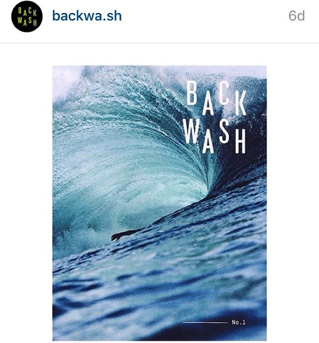 Can't wait to get the very first issue of #BackWash @backwa.sh  in the mail to feed the beating heart of our #SurfAddition