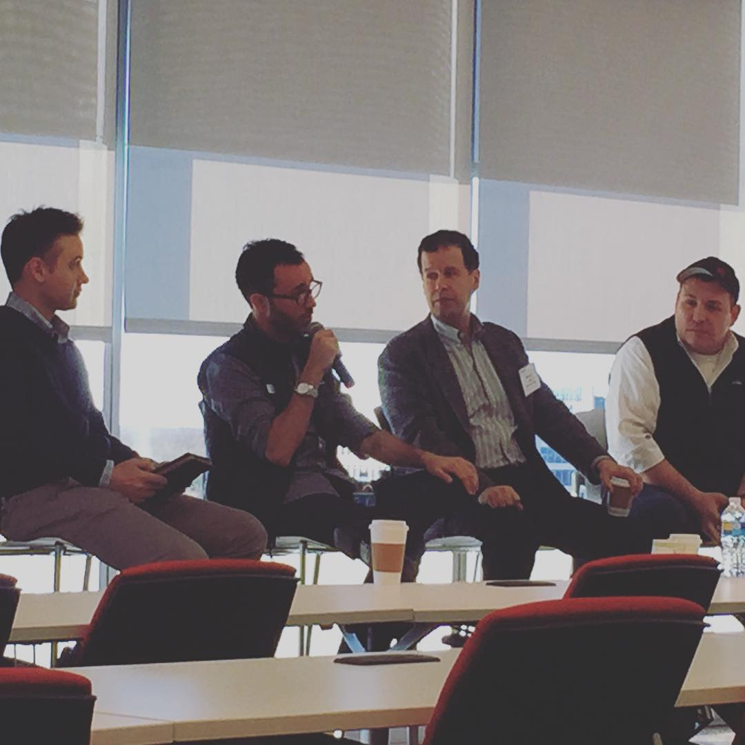 Fantastic #tech #breakfast with @frankgruber @techcocktail @danberger @socialtables and @martymadrid sharing stories and lessons learned from their #startup #journey #dctech #techcocktail #deloitte