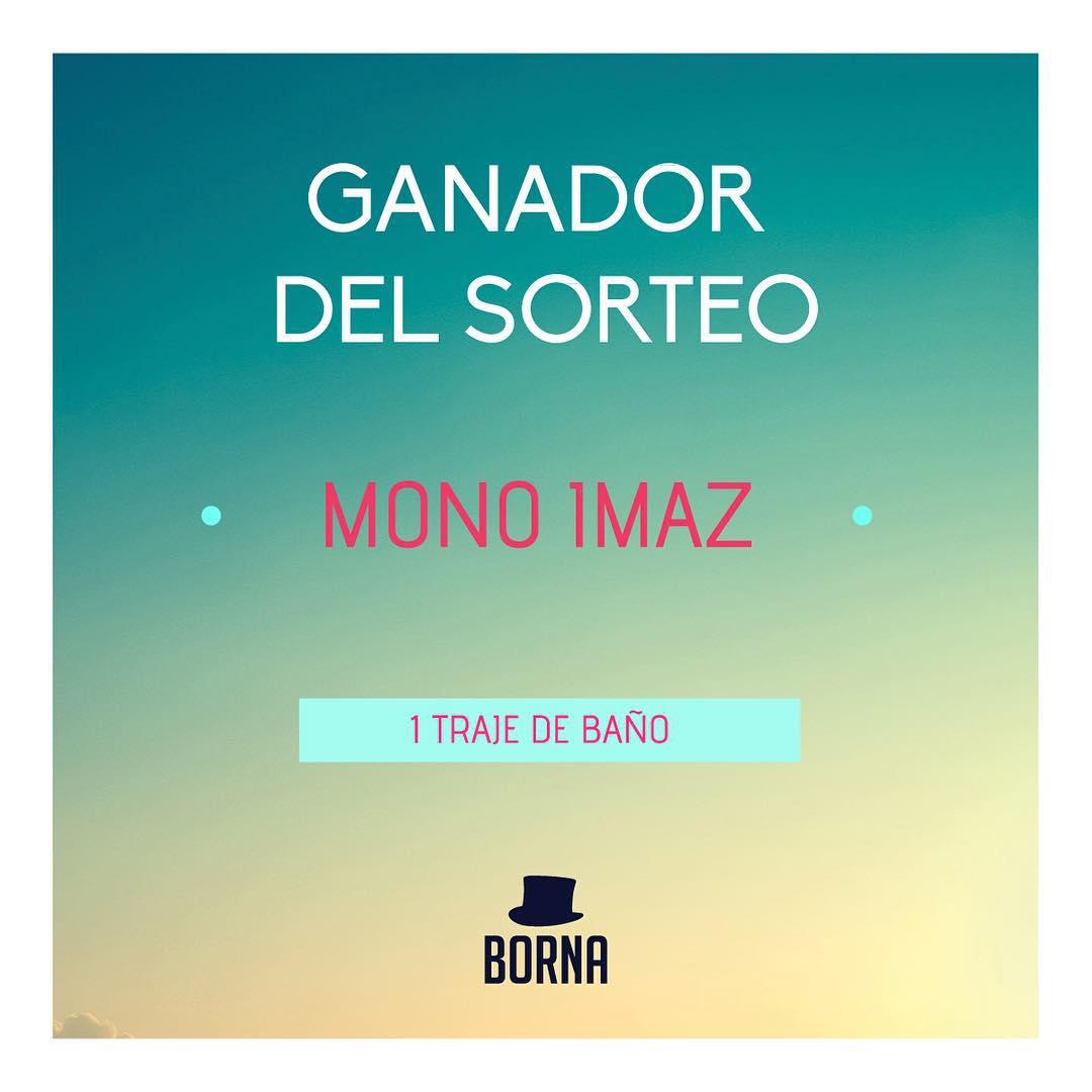 GANADOR DEL SORTEO @monoimaz !!! Contactate con nosotros para retirarlo!