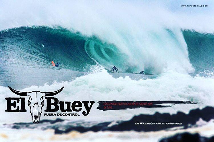 Nuestro rider @juanarca1 en la edición tres de Thruster Magazine. #thrustermag . Click en el link para leer la nota del swell que se corrió en el mes de agosto en El Buey.. http://thrustermagazine.com/edicion/tres/  #elbuey #surf #surfing...