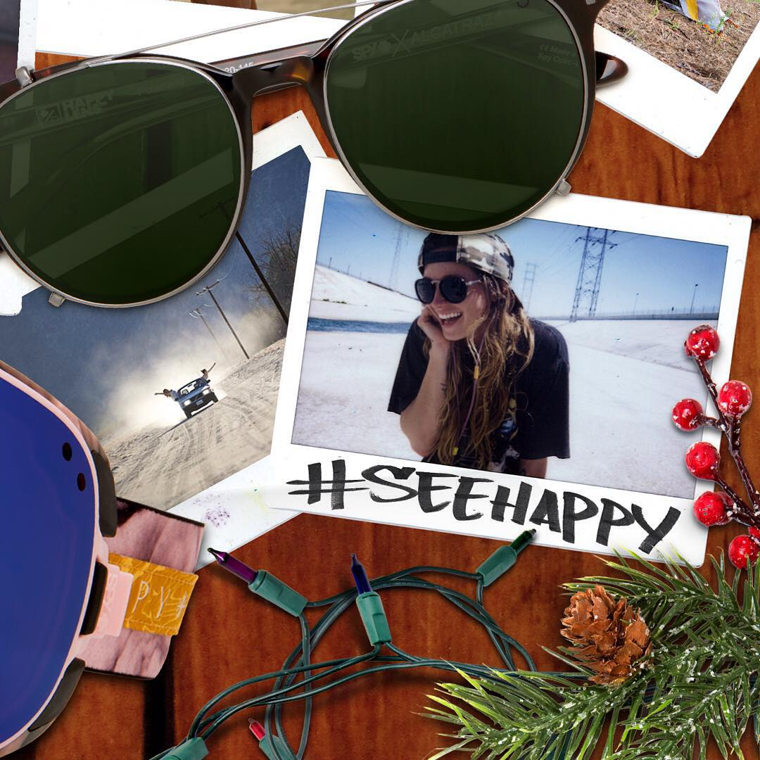 Celebrate the holidays with SPY and your favorite athletes in our #9daysofhappy contest! Two $500 SPY shopping sprees up for grabs! ❄️❄️❄️ To kick it off, surfer songbird @lindsayperry wants you to tag a friend in the comments below and tell us what...