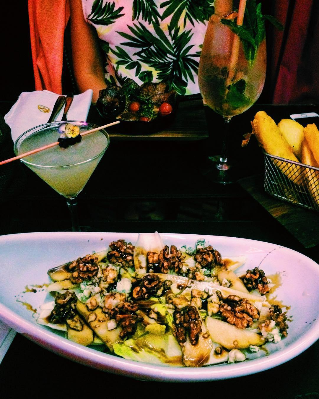 Veggie dinner @singapurbar