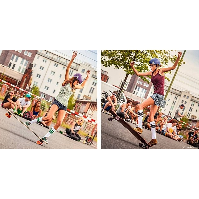 Go to www.longboardgirlscrew.com and check out our favorite #twins @femkebosma & @martebosma from #TheNetherlands rad new video plus some amazing photos. We love these two. @mari_aprilfool photos. #longboardgirlscrew #twoisbetterthanone