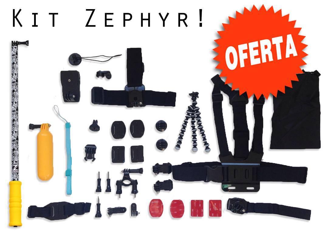 Hace un buen regalo de navidad! Regala este kit de accesorios para GoPro! Conseguilo en nuestro Shop online! ◾www.zephyrgear.com.ar◾