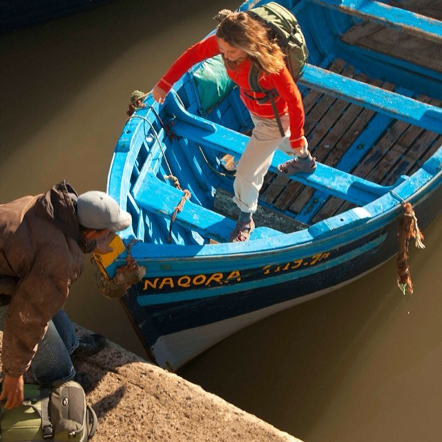 Sometimes you just need to take a ride on a pirate boat in Morocco  Photo: David Blehert @eaglecreek