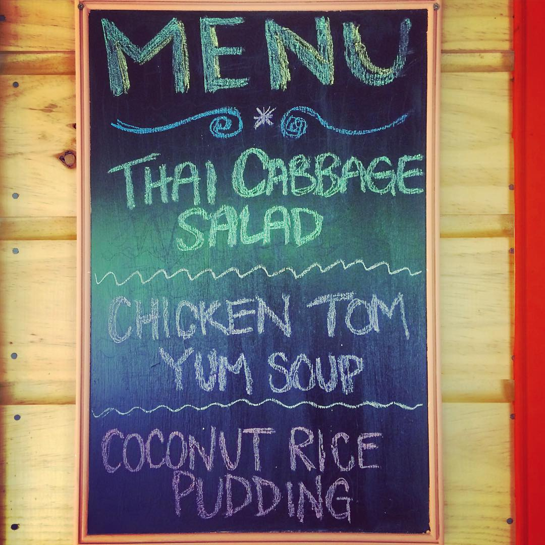 We went with a Thai-themed dinner last night // #homemade #fromscratch #thaifood