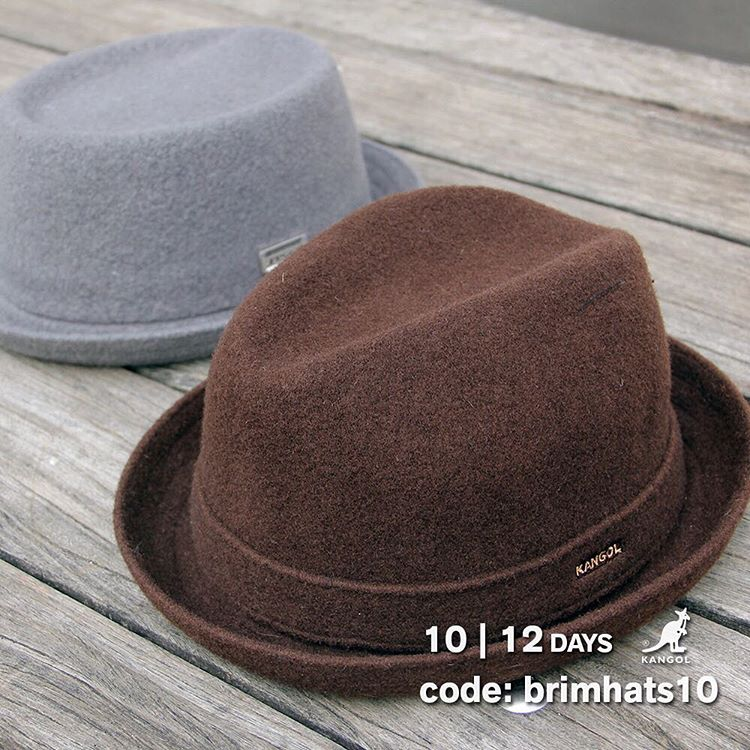 12 Days Of Giving | Day 10: Save 10% on Brims with the code: brimhats10 at kangolstore.com #kangol