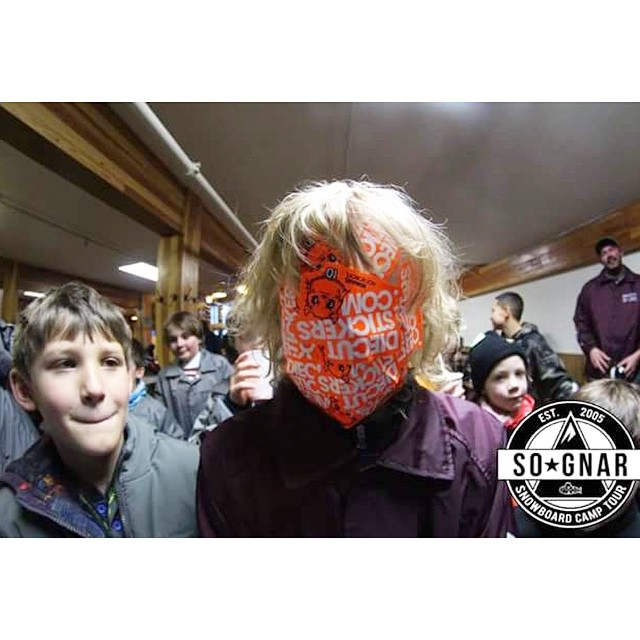 New @diecutstickersdotcom collab @sognarofficial limited edition custom facemasks available at any of the upcoming Snowboard Camp Tour stops near you!! U never know what the campers will create when u provide them rad stickers?!? Visit our Facebook...