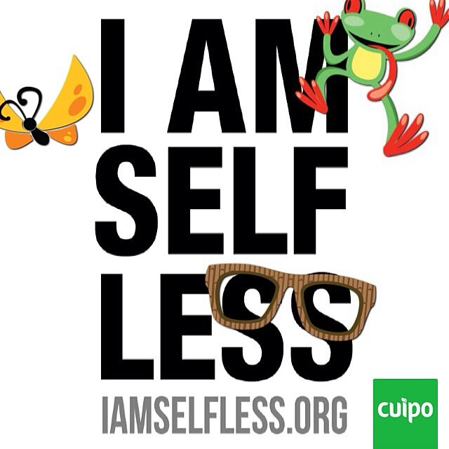 CUIPO HAS JOINED FORCES WITH IAMSELFLESS.COM. NOW YOU CAN GET PERKS BY SAVING RAINFOREST. #IAMSELFLESS #CUIPO #SAVERAINFOREST @liveselfless