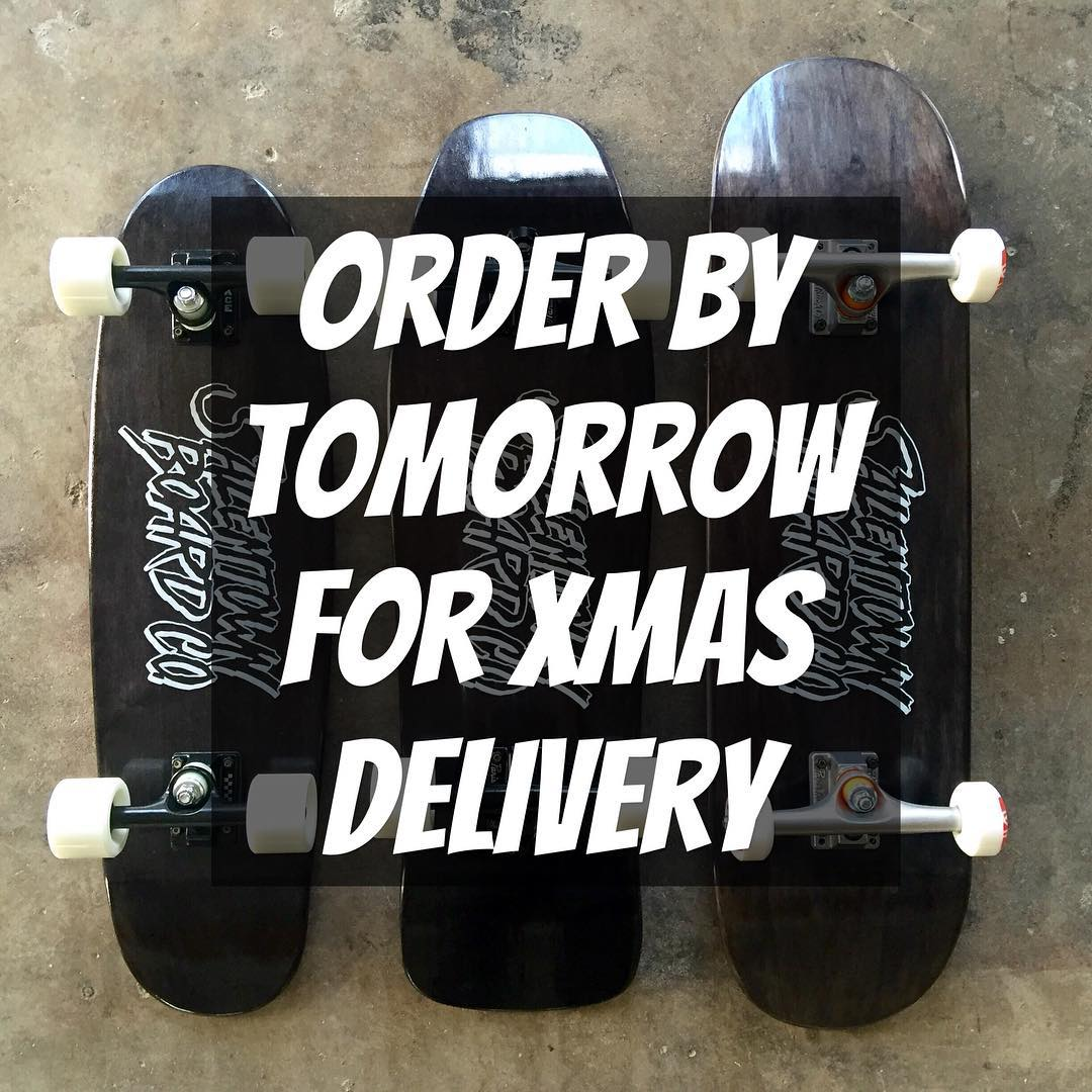 Order by tomorrow for guaranteed shipment for Christmas.