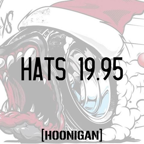 HNGN Holiday Countdown: Under 20 bucks for all hats on #hooniganDOTcom. TODAY ONLY! #nuffsaid