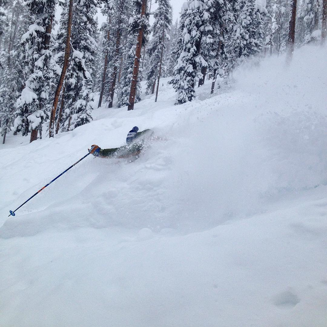 Deep day @winterparkresort #maryjane #powday #powderisinthetrees