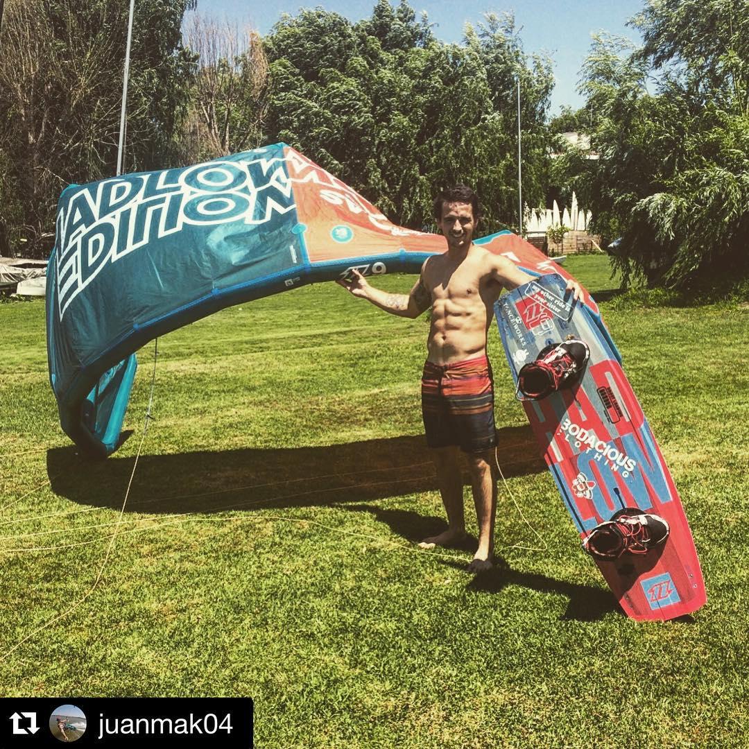 Dia de viento, dia de #kitesurfing