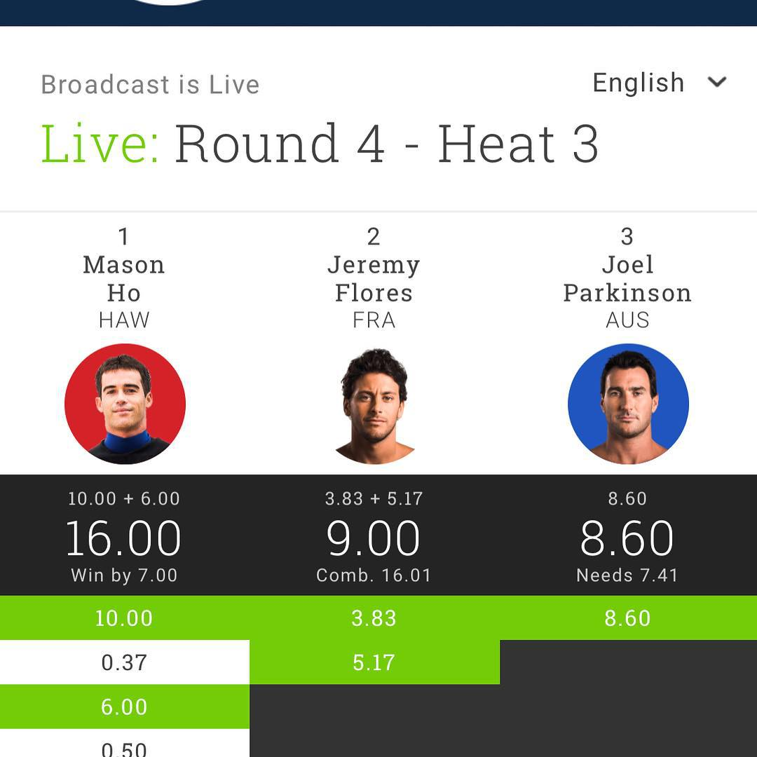 Fanning, Slater, Florence round 4 now this. Best heats seen in a long time. Epic Pipe #pipelinemasters #wsl #bbr #buccaneerboardriders #bbrsurf