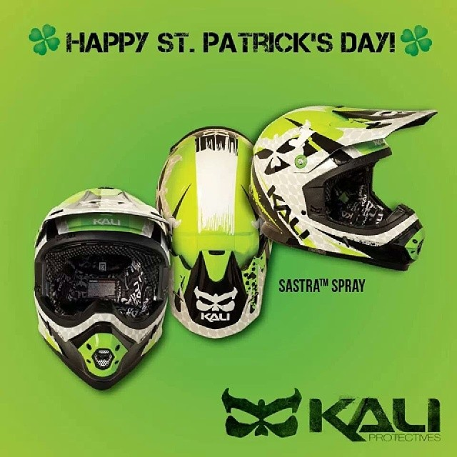 Happy St. Patrick's Day from Kali Protectives! #kaliprotectives #kalipro #kali #happystpatricksday #sastra #spray