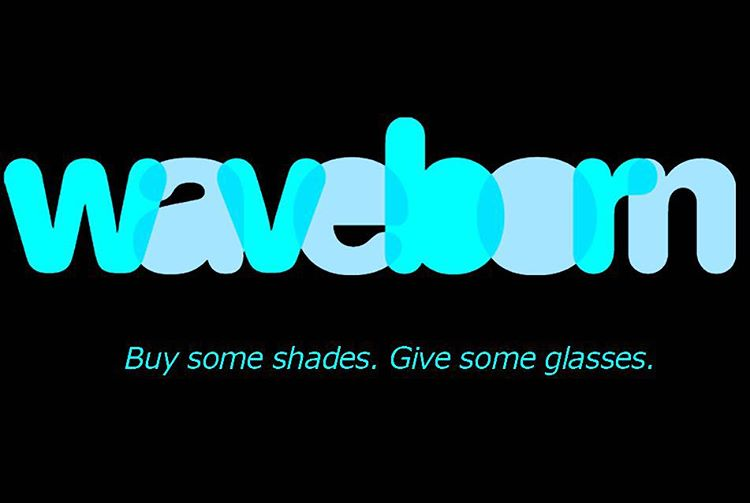 #tbt to the original #waveborn logo from 2011 #buysomeshades #givesomeglasses #givemore #graphic #design