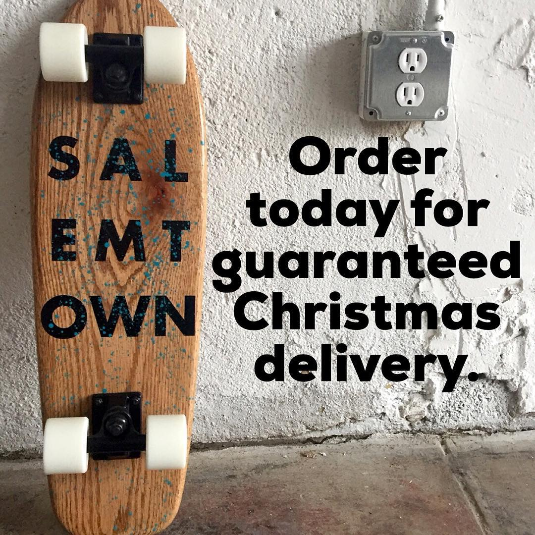 Get those Christmas orders in today. Also come see us on Saturday from 11-5 as we clear out our storage with 15% off. 1003 Buchanan St.