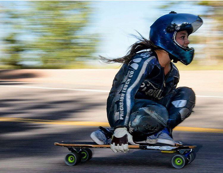 Our LGC USA Ambassador @skatebagels is starting a monthly column on @wheelbasemag. Go to our Fb profile to find the link! @isaacmtsu photo.  #longboardgirlscrew #womensupportingwomen #lgcusa #rachelbagels