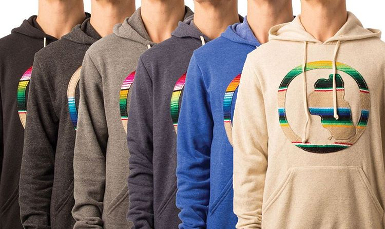 The OG Serape Pullover Hoodie. Order online today to guarantee delivery before xmas across the USA. _ #tahoemade