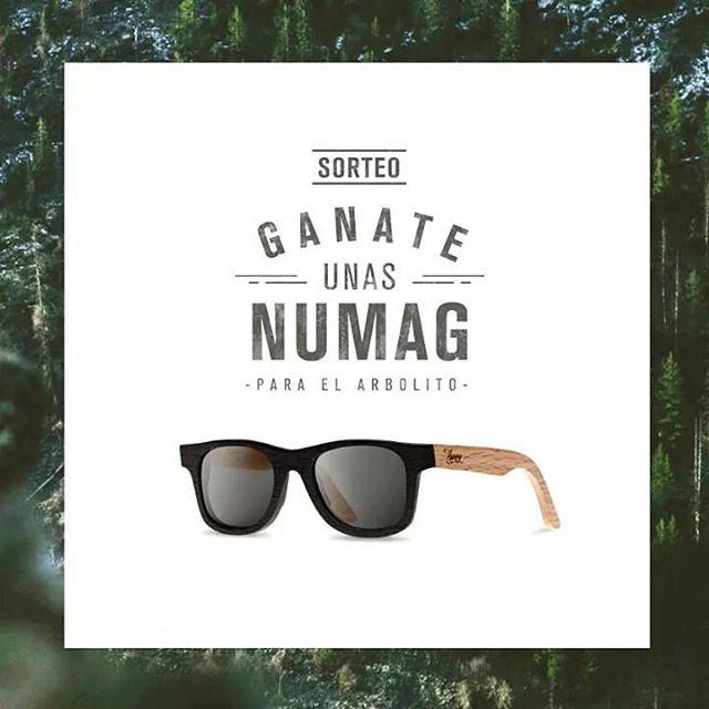 Ya esta llegando la Navidad y en Numag te regalamos unas cancheras gafas de madera para el arbolito! Condiciones para participar: -> Comenza a seguir a Numag -> Dale REPOST a la foto del sorteo -> Taggea a tus amigos en los comentarios de la foto...