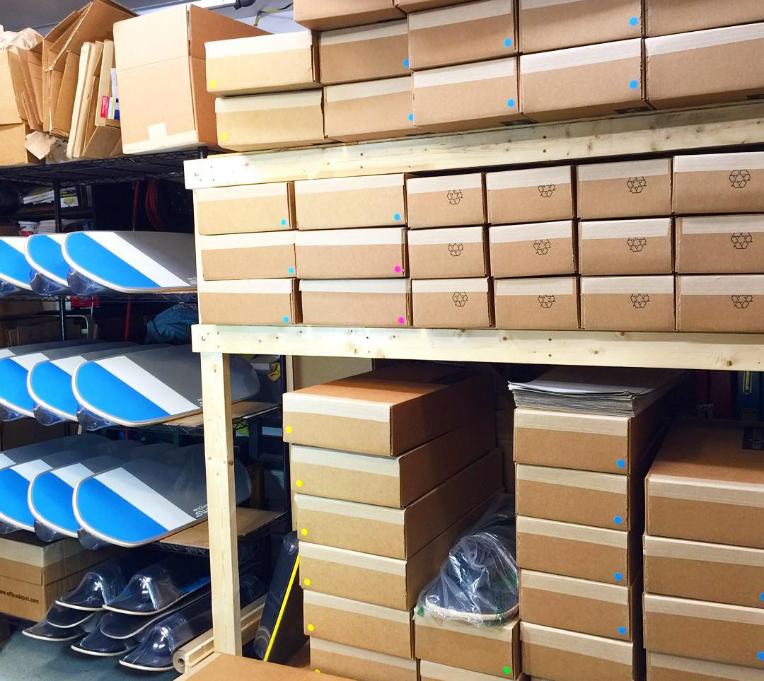 Revolution shipping department is staying busy wrapping and packaging your new boards