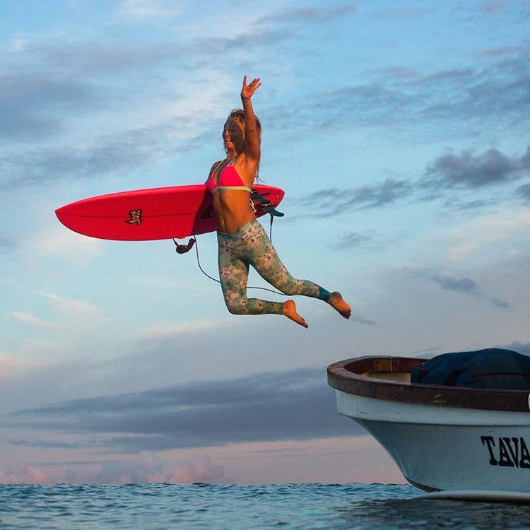 Check out my new silky soft @odinasurf ECO SURF & YOGA LEGGINGS!